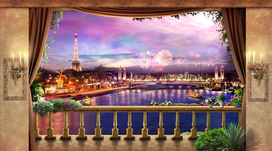 13Evening in Paris